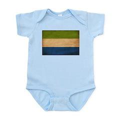 Sierra Leone Flag Infant Bodysuit