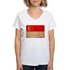 Singapore Flag Shirt