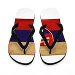 Slovakia Flag Flip Flops