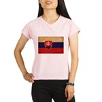 Slovakia Flag Performance Dry T-Shirt