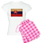 Slovakia Flag Women's Light Pajamas