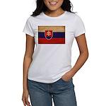 Slovakia Flag Women's T-Shirt