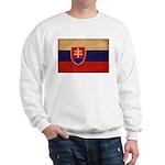 Slovakia Flag Sweatshirt