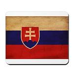 Slovakia Flag Mousepad