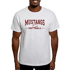 Mustangs Softball T-Shirt