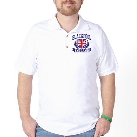 Blackpool England Golf Shirt