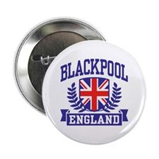 "Blackpool England 2.25"" Button"