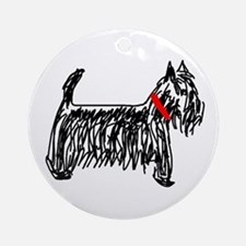 Scottish Terrier | Scottie Ornament (Round)