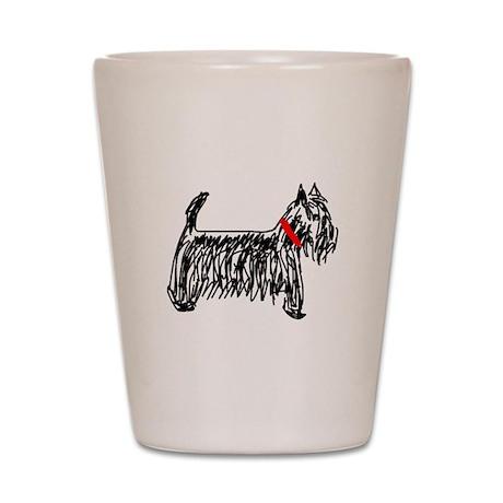 Scottish Terrier   Scottie Shot Glass