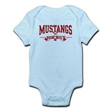 Mustangs Hockey Infant Bodysuit