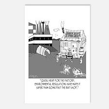 Fishing Below the Sewage Pipe Postcards (Package o