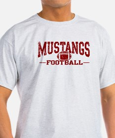 Mustangs Football T-Shirt