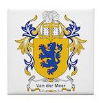 Van der Meer Coat of Arms Tile Coaster