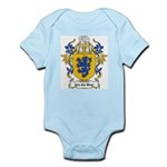 Van der Meer Coat of Arms Infant Creeper