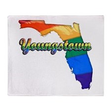 Youngstown, Florida, Gay Pride, Throw Blanket