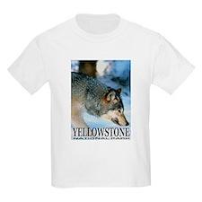 Yellowstone National Park Kids T-Shirt