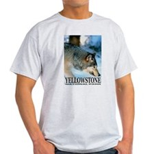 Yellowstone National Park Ash Grey T-Shirt