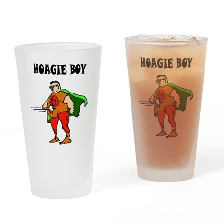 Hoagie Boy Drinking Glass