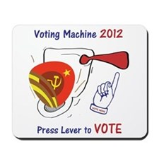 Anti-Obama Voting Toilet Mousepad