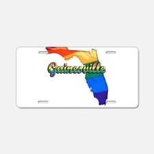 Gainesville, Florida, Gay Pride, Aluminum License