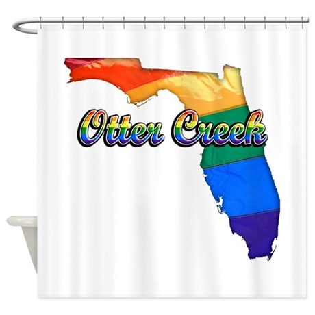 Otter Creek, Florida, Gay Pride, Shower Curtain