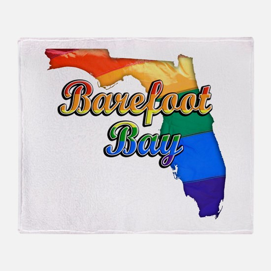 Barefoot Bay, Florida, Gay Pride, Throw Blanket