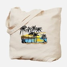 Beautiful Beach Tote Bag