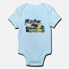 Beautiful Beach Infant Bodysuit