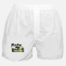 Beautiful Beach Boxer Shorts