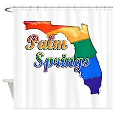 Palm Springs, Florida, Gay Pride, Shower Curtain