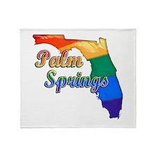 Palm Springs, Florida, Gay Pride, Throw Blanket