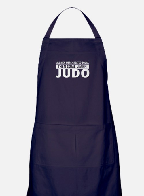 Judo design Apron (dark)
