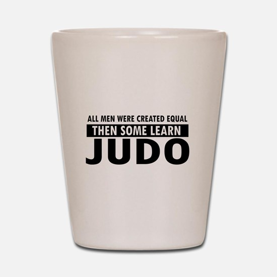 Judo design Shot Glass