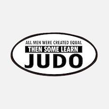Judo design Patches