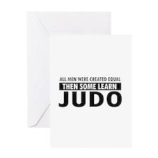 Judo design Greeting Card
