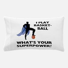 Basketball Superhero Pillow Case