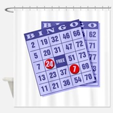 Bingo 24/7 Shower Curtain
