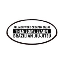 Brazilian Jiu-Jitsu design Patches