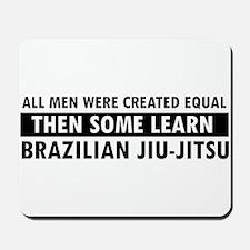 Brazilian Jiu-Jitsu design Mousepad