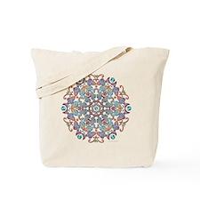 Fish Snowflake Tote Bag