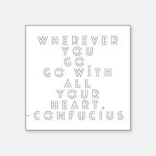 Confucius Sticker
