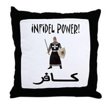 Infidel Throw Pillow