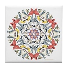 Birds Birds Birds Tile Coaster