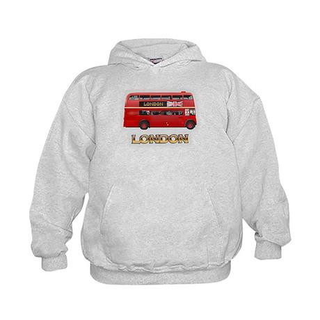 Red Bus Kids Hoodie