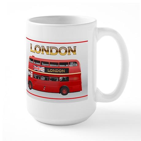 Red Bus Large Mug