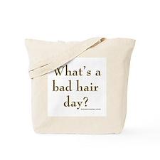 hair day Tote Bag