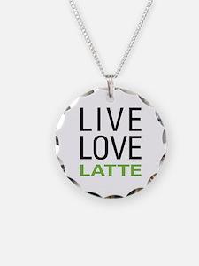Live Love Latte Necklace