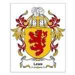 Lewe Coat of Arms Small Poster