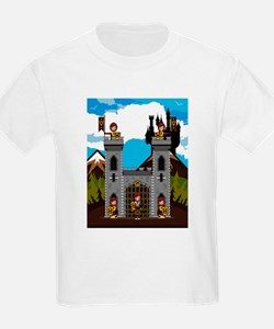 Medieval Knights & Castle T-Shirt