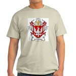 Van Leusden Coat of Arms Ash Grey T-Shirt